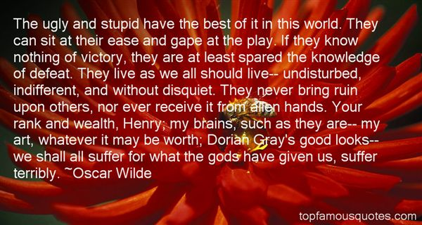 Quotes About Dorian Gray