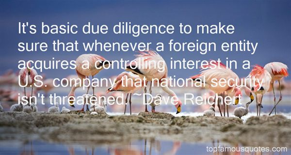 Quotes About Due Diligence