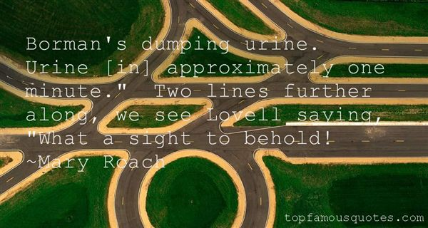 Quotes About Dumping