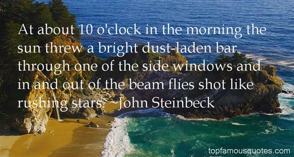 Quotes About Dust