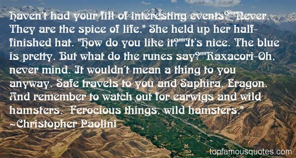 Quotes About Earwigs