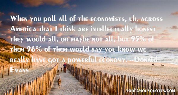 Quotes About Economists