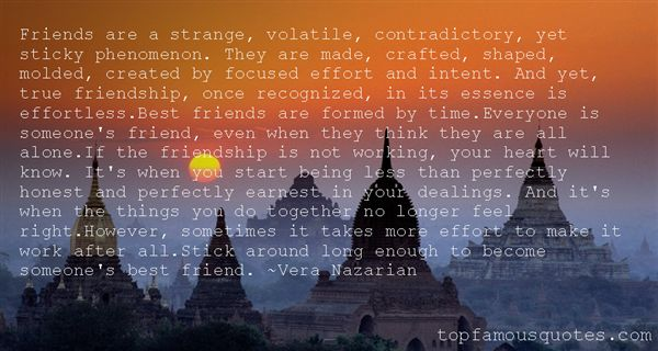 Quotes About Effortless Friends