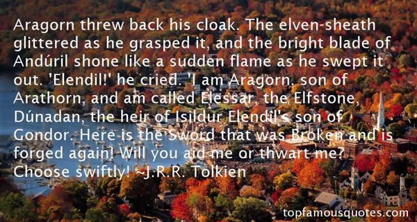 Quotes About Elendil