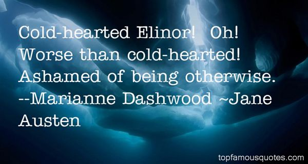 Quotes About Elinor Dashwood