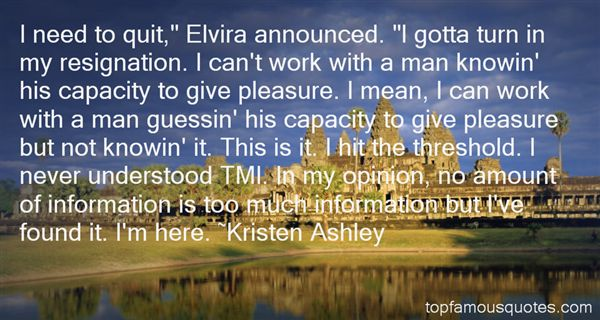 Quotes About Elvira