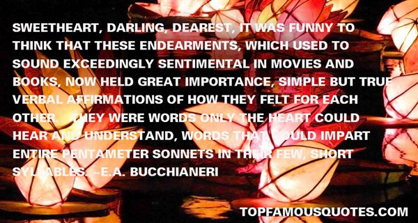 Quotes About Endearment