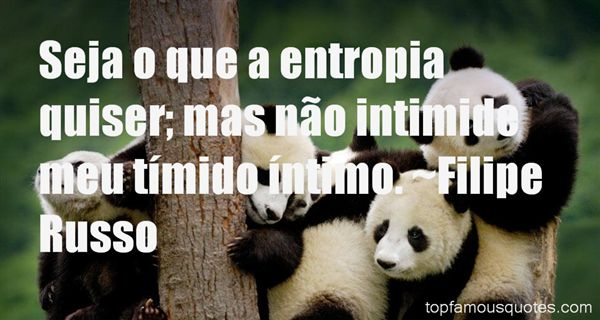 Quotes About Entropia