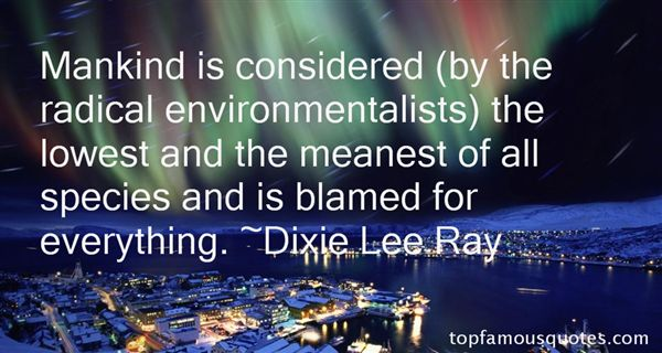 Quotes About Environmentalists