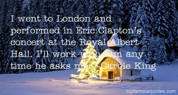 Quotes About Eric Clapton
