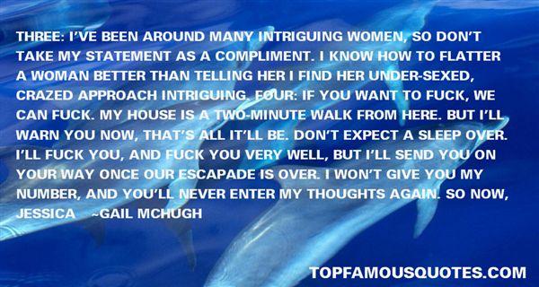 Quotes About Escapade
