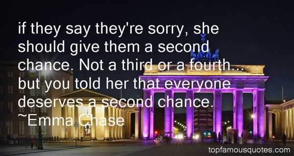 Quotes About Everyone Deserves A Chance