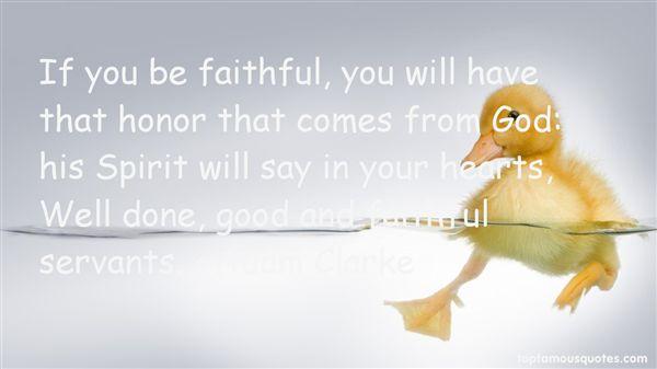 Quotes About Faithful Servants