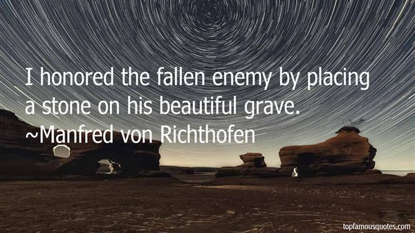 Quotes About Fallen