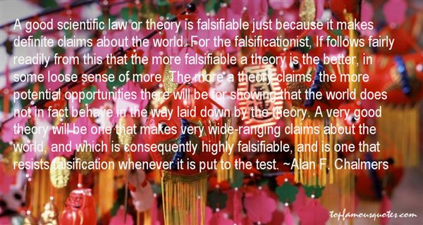 Quotes About Falsification