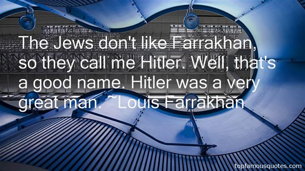 Quotes About Farrakhan