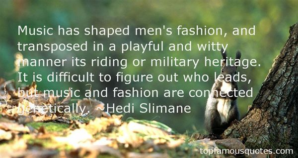 Quotes About Fashion And Music