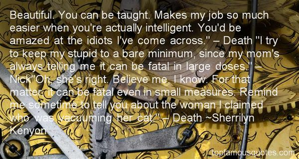 Quotes About Fatal Woman