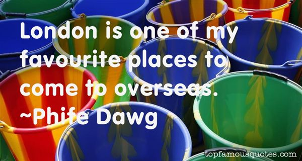 Quotes About Favourite Places