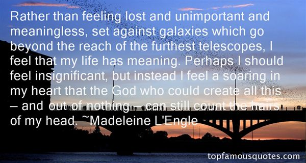 Quotes About Feeling Meaningless