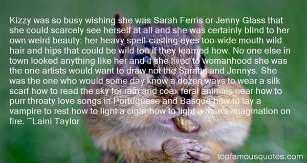 Quotes About Feral Animals