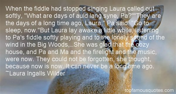 Quotes About Fiddle Playing