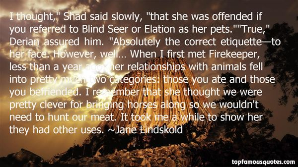 Quotes About Firekeeper