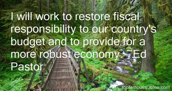 Quotes About Fiscal Responsibility