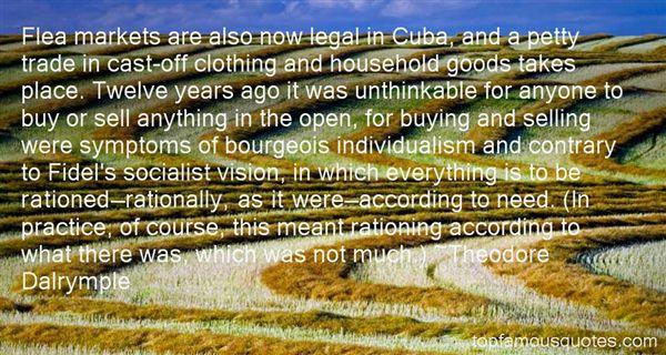 Quotes About Flea Markets