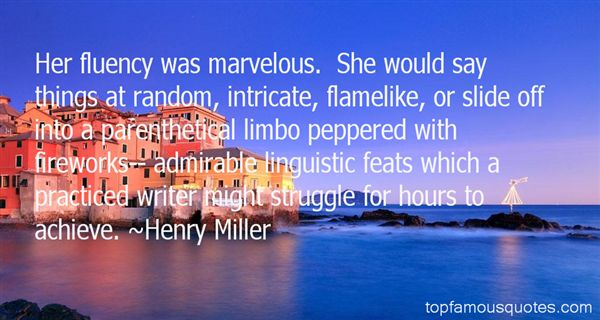 Quotes About Fluency