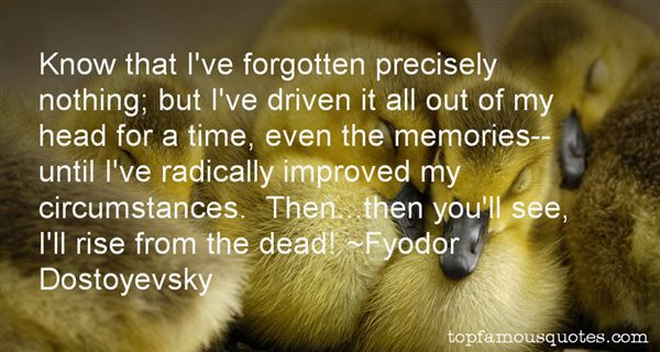 Quotes About Forgotten Memories