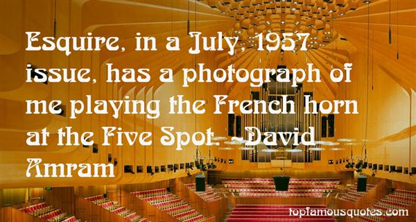 Quotes About French Horn
