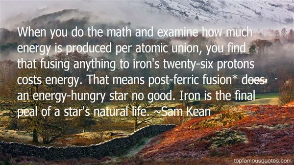 Quotes About Fusion Energy