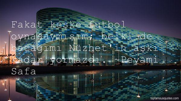 Quotes About Futbol
