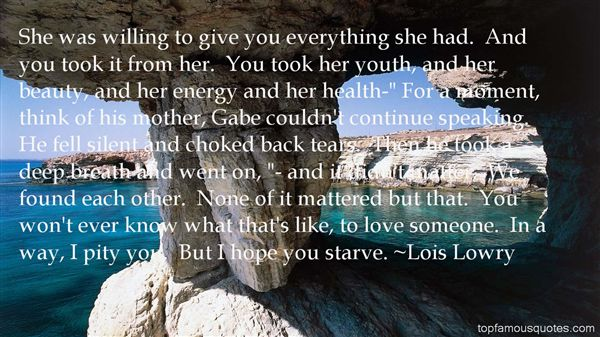 Quotes About Gabe