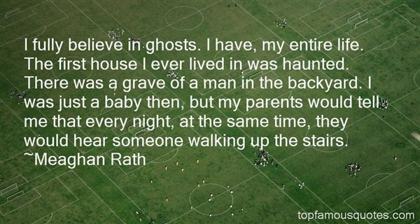 Quotes About Ghosts