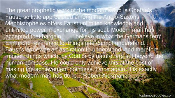 Quotes About Goethe Nature