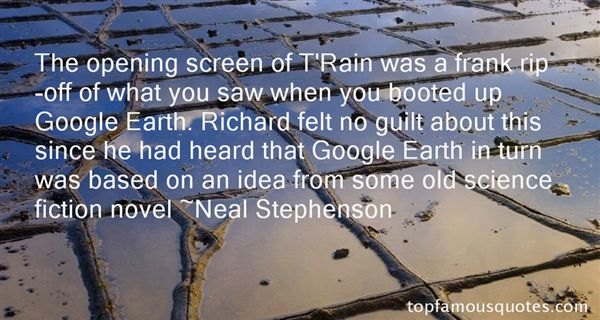 Quotes About Google Earth