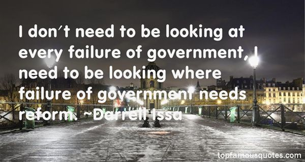 Quotes About Government Failure