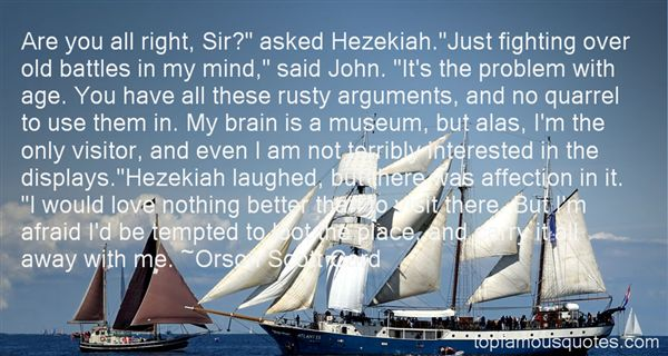 Quotes About Hezekia