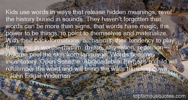 Quotes About Hidden Meanings