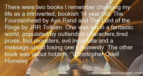 Quotes About Hobbits