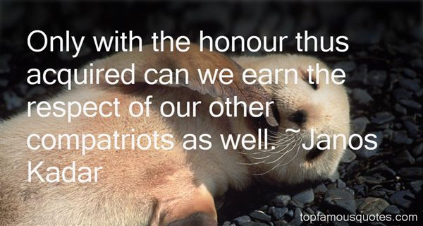 Quotes About Honour