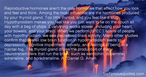 Quotes About Hormone