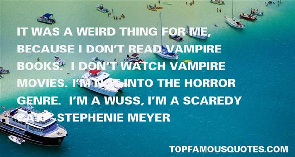 Quotes About Horror Genre