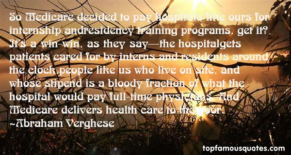 Quotes About Hospital Patients