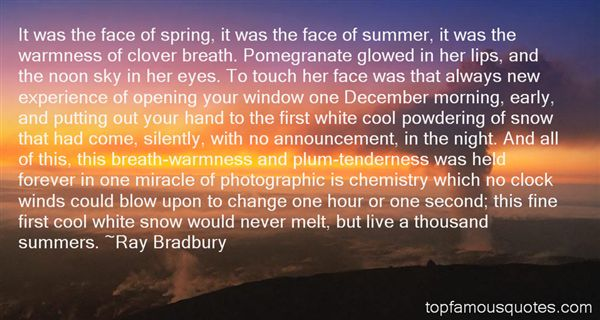 Quotes About Hot Summers