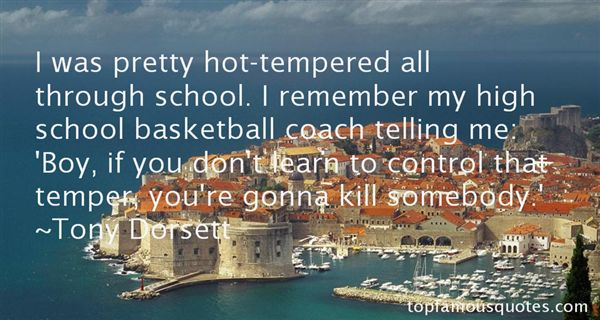 Quotes About Hot Tempered