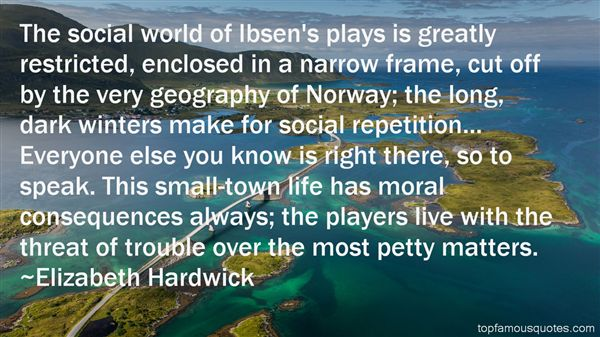 Quotes About Ibsen