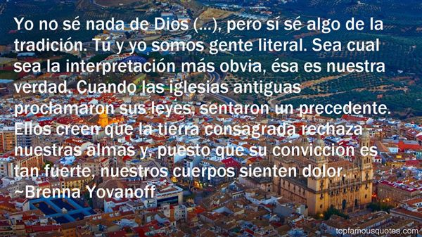 Quotes About Iglesia